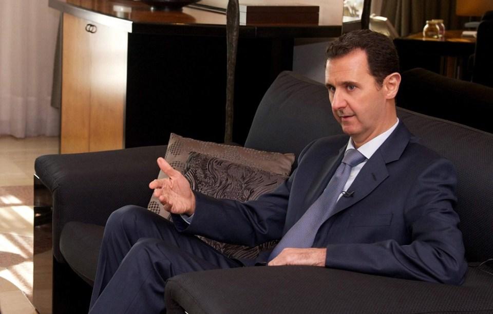 Башар ал-Асад. Снимка: EPA/ БГНЕС