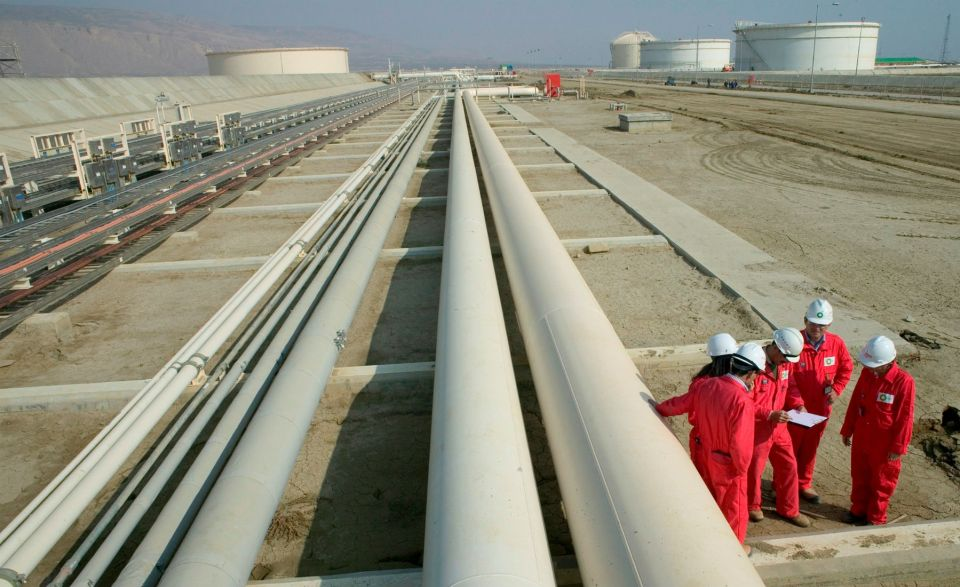 газопровод Азербайджан