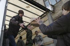 В Източна Украйна всяка хуманитарна помощ е добре дошла