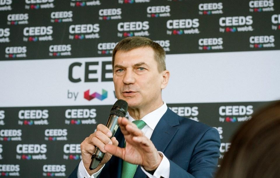 Заместник-председателят на ЕК, отговарящ за единния цифрови пазар, Андрус Ансип. Снимка: Ureport.bg