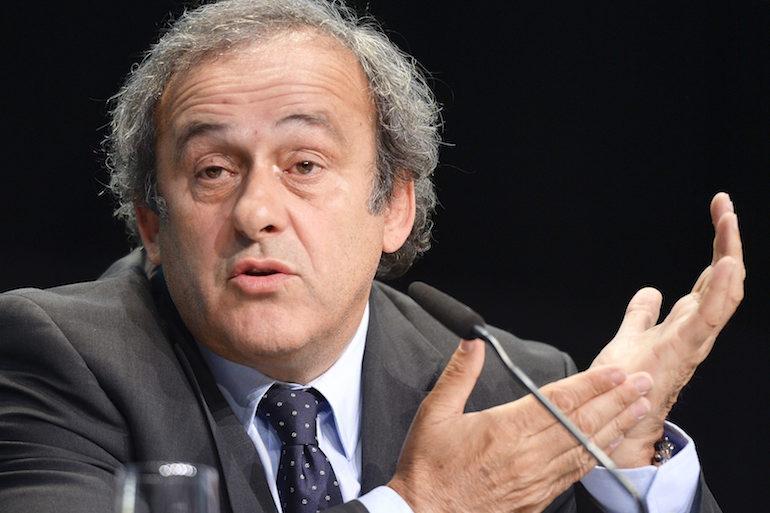 Президентът на UEFA Мишел Платини  ©EPA/БГНЕС