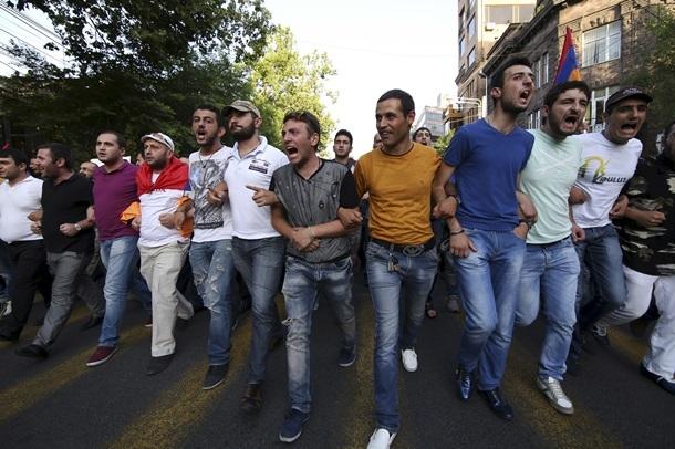 протести Ереван 1