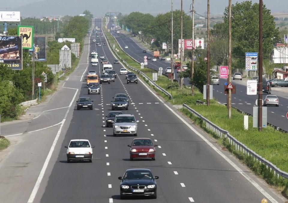 Цариградско шосе в София. Снимка: БГНЕС
