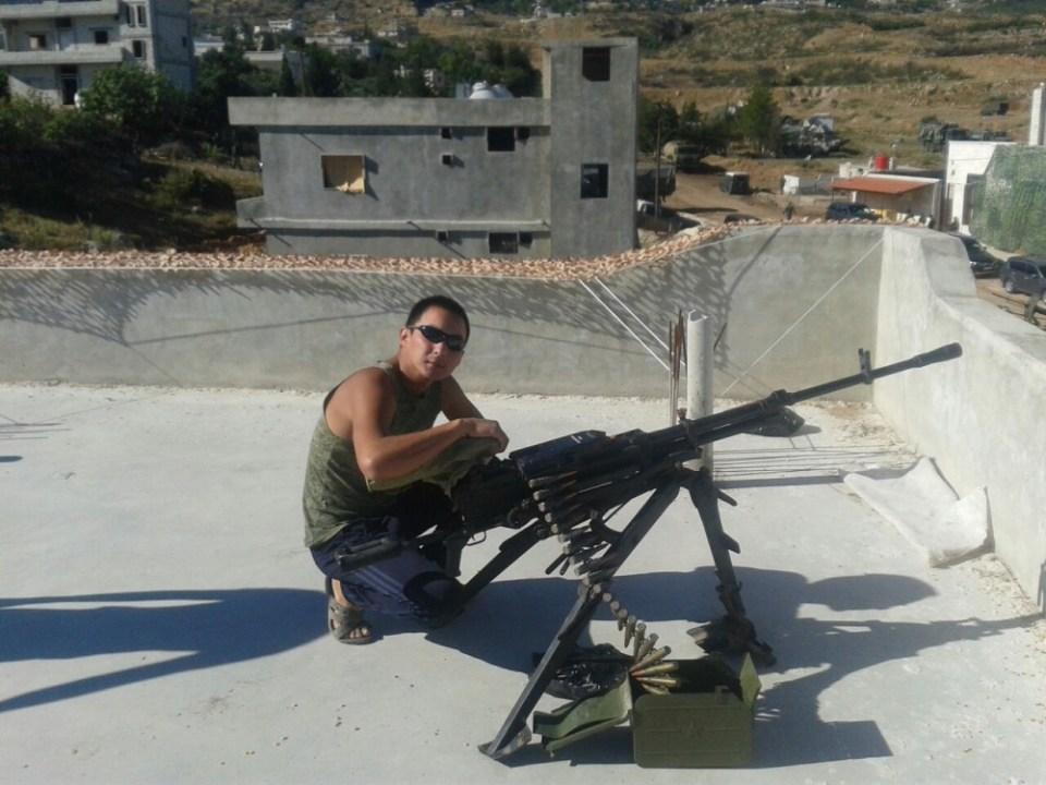 руски войник в сирия
