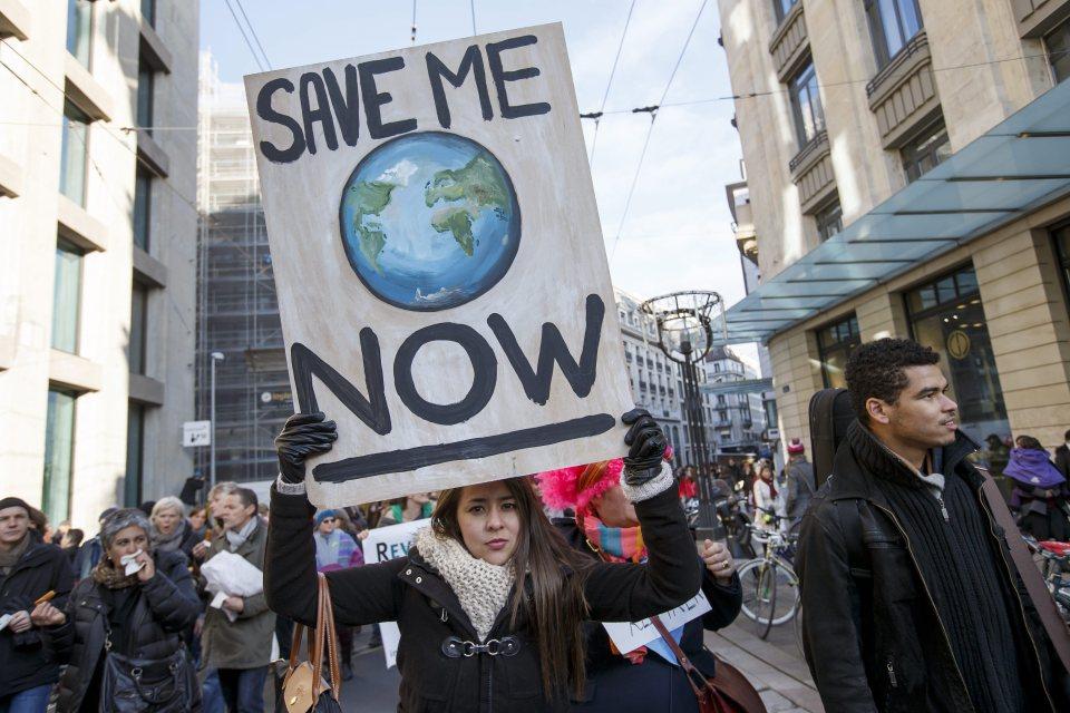 Маршът за климата в Швекцария. Такива шествия с искане да се договорят решителни мерки за климата се проведоха в целия свят, а в София имаше велошествие. Най-многобройна бе демонстрацията в Осло, която събра хиляди