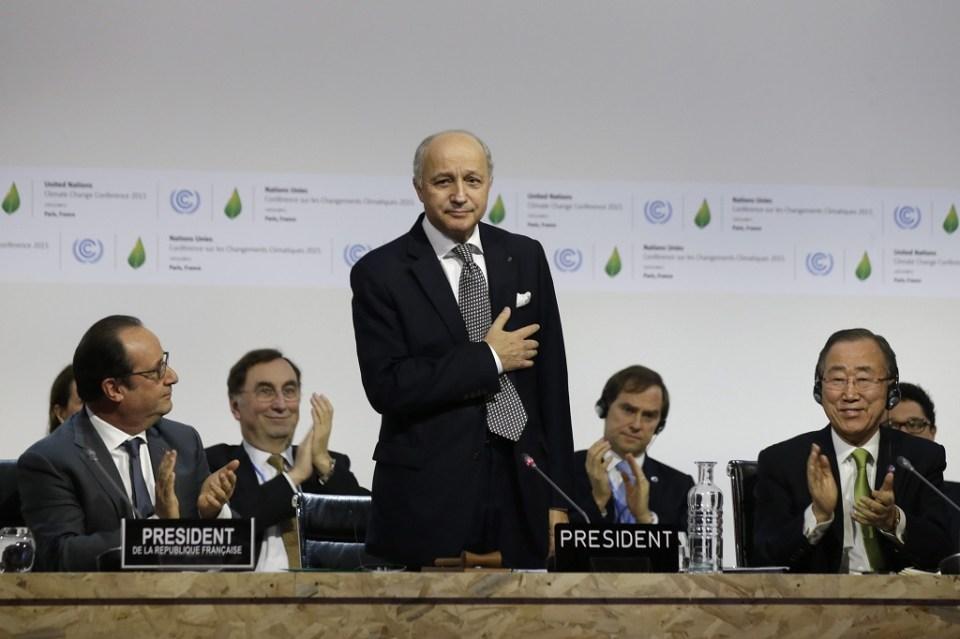 Министърът на външните работи на Франция Лоран Фабиюс. Снимка: ЕРА/БГНЕС