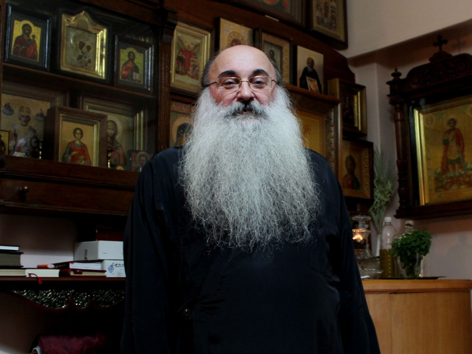 Отец Прокопис Петридис