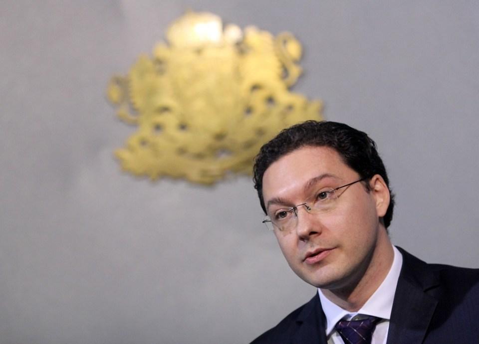Министърът на външните работи Даниел Митов. Снимка: ЕРА/БГНЕС
