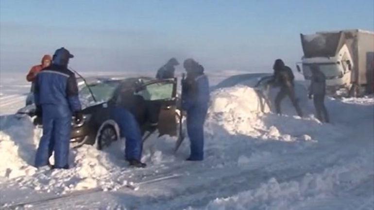 сняг русия путин
