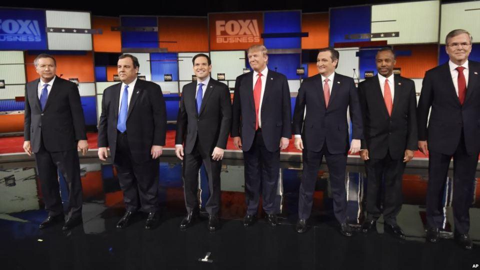 Кандидадите на Републиканската партия
