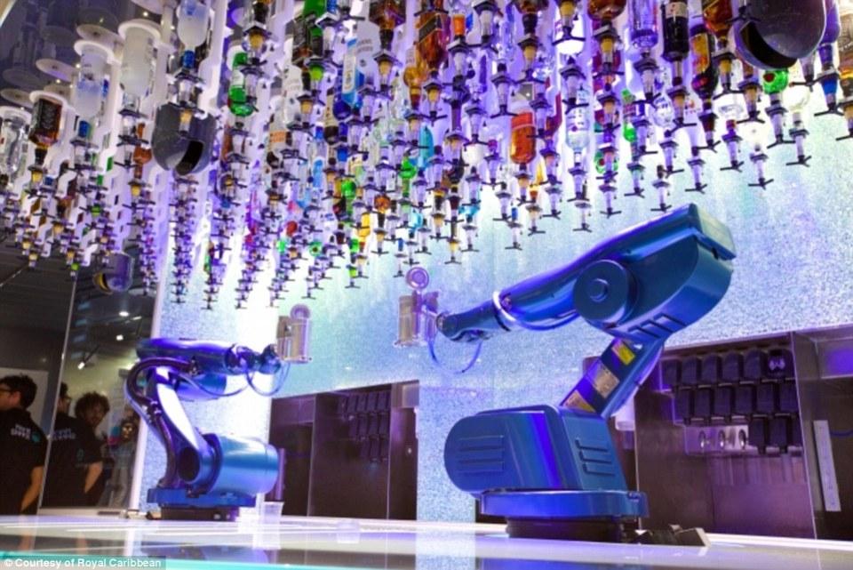 бар бионични роботи