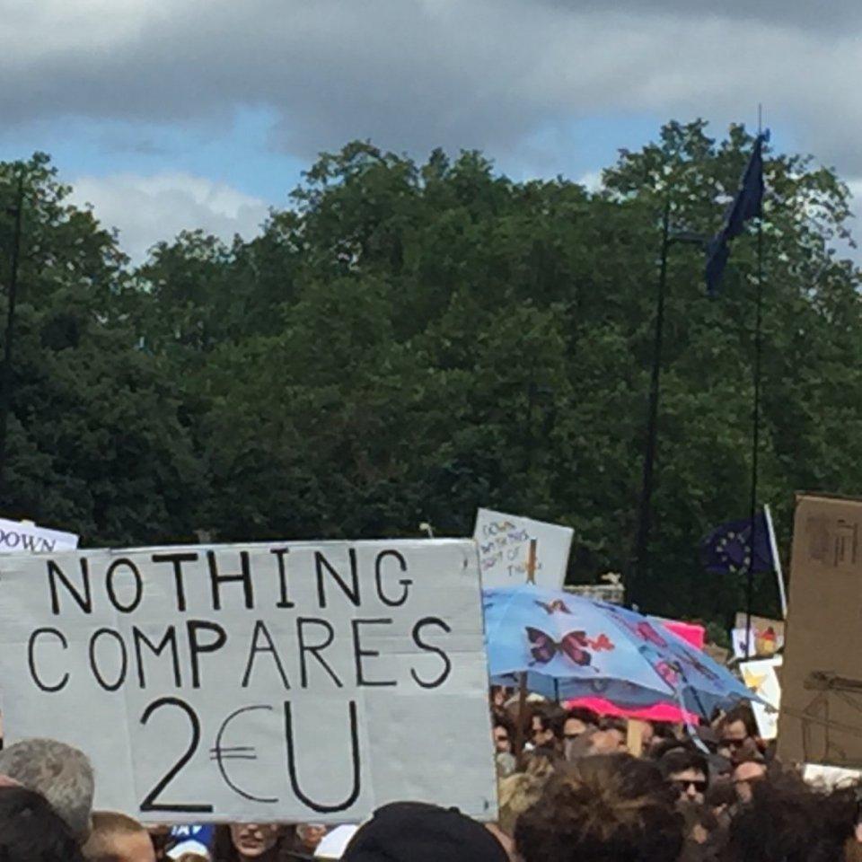 Лондон протест