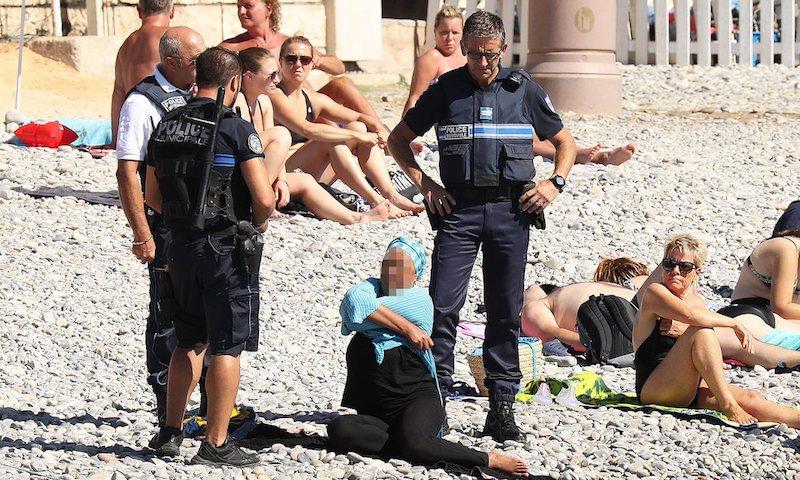 буркини ница полиция