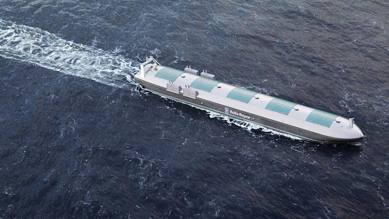 безпилотен кораб rolls-royce