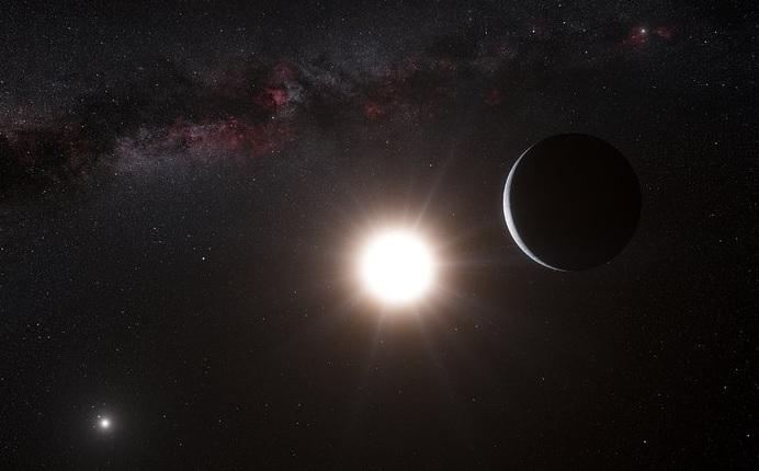 Изображение на екзопланета в системата на Алфа Кентавър. Изображение: ESO/L. Calçada/Nick Risinger