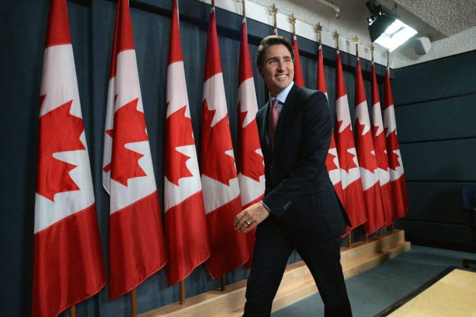 Министър-председателят на Канада Джъстин Трюдо