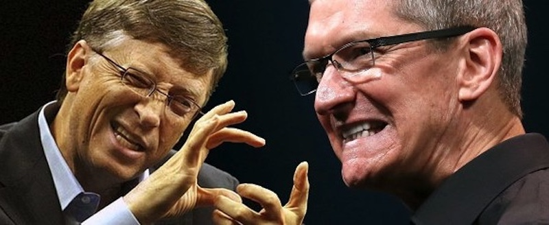 ice-bucket-bill-gates-vs-tim-cook