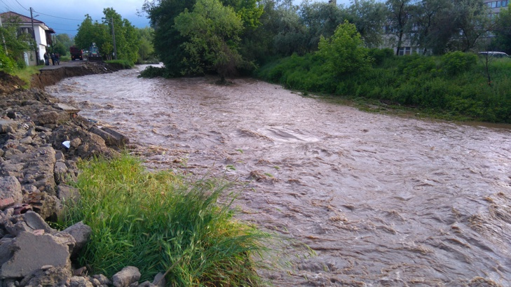 Река Глазне в Банско. Снимка: БГНЕС