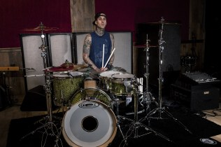 Travis Barker, Blink-182, ©Deirdre O'Callaghan