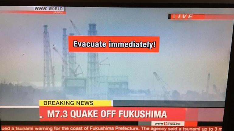 фукушима трус цунами