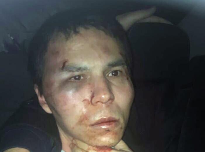 Абдулкадир Машарипов. Снимка на Турската полиция от залавянето му, via EPA/БГНЕС
