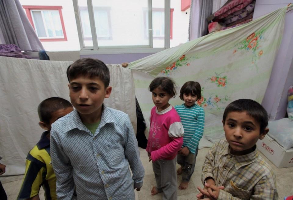 Турция деца сирия