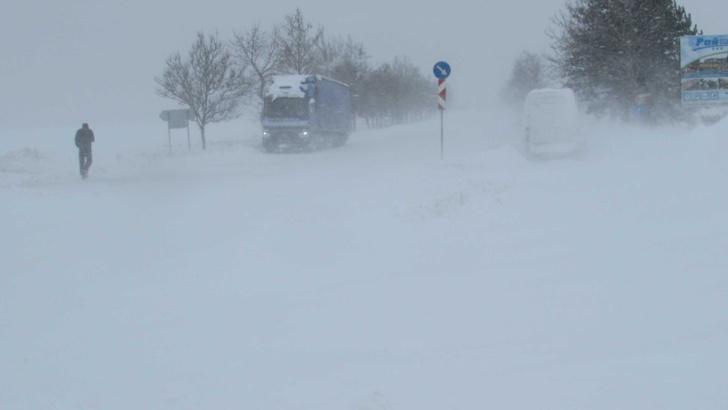 сняг зима