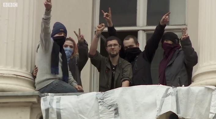 Скуотърите от АНАЛ. Стопкадър: BBC Russia