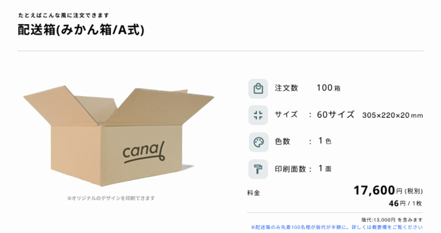 canalとは?canalの特徴