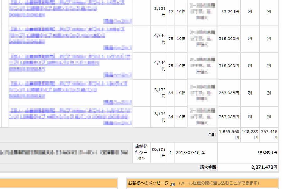 楽天月商300万円