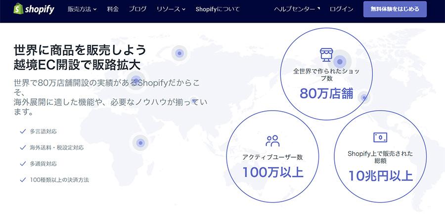 Shopify(ショッピファイ)とは