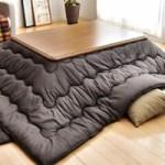 家具調こたつ 長方形で120サイズこたつ布団セットが超お買い得