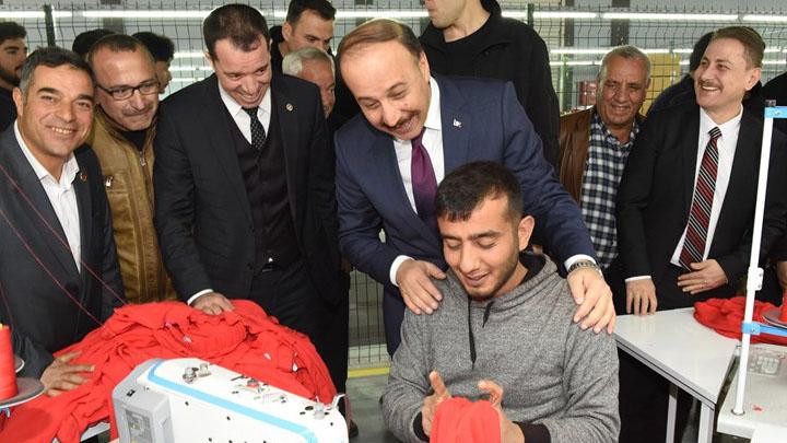 Akçakale, Birecik ve Viranşehir'e 21,4 Milyon TL destekleme