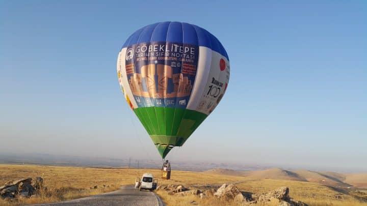 göbeklitepe- uçan balon