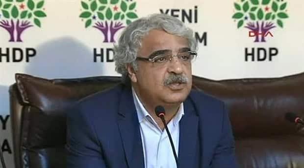 hdp-milletvekili-mithat-sancar- kobani- gözaltı