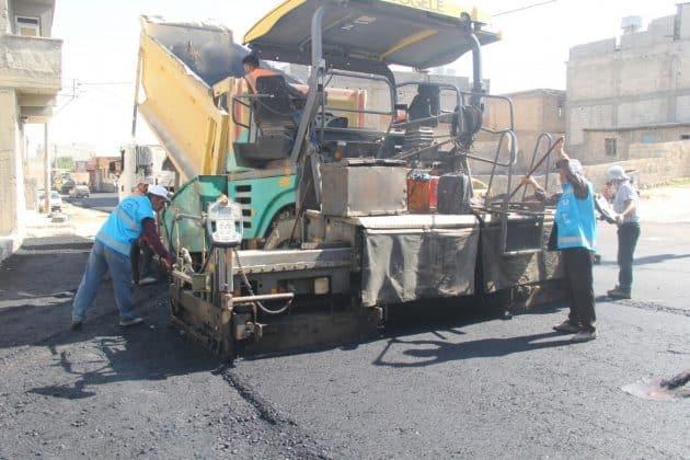 Eyyübiye Belediyesi asfalt çalışmalarına hız verdi