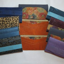Handcrafted, cork wallets