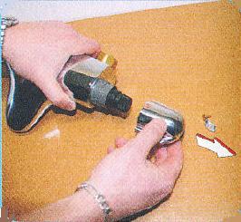 demontage du mitigeur thermostatique