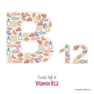 Vitamin B12 kommt in nennenswerten Mengen nur in tierischen Lebensmitteln vor.