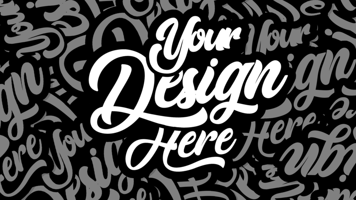 Free Sticker Mockup Template