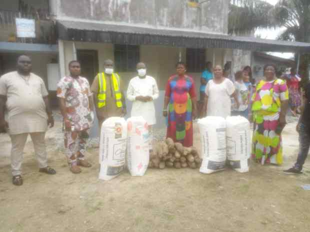 YOUTHWING OF UPU COMMENCES DISTRIBUTION OF FOOD ITEMS IN DELTA CENTRAL