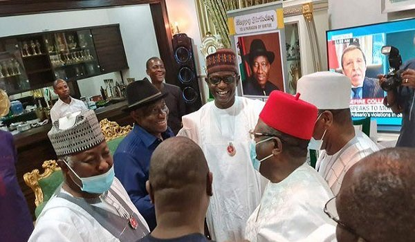 Pdp Vs Apc Are Locked Over Governors Visit To Jonathan