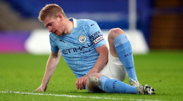Pep Have Confident On De Bruyne For Man City Future