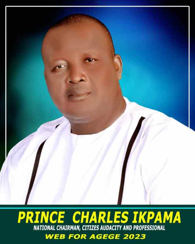PRINCE CHARLES IKPAMA SEES A BETTER NIGERIA AND ENCOURAGES DELTANS TO UNITE