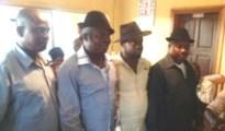 The newly elected executive of NUJ Warri Correspondents Chapel. From right, Comrade Michael Ikeogwu, Chairman; Comrade Joe Ogbodu, Vice Chairman; Comrade Akpokona Omafuaire, Secretary and Odeya Ogbetuo, Auditor.