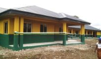 A block of six classrooms with Principal and Staff room at Umuebu Secondray School, in Ukuani LGA, built and commission by DESOPADEC