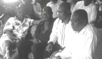 (L-R), Chairman of Delta Political Vanguard, Evangelist Michael Diden , Vincent Uduaghan, Julius Takeme and Alhaji (Barr) Isa Clark