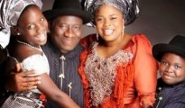 President Goodluck Jonathan and his family