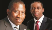 Goodluck Jonathan and Ifeanyi Okowa