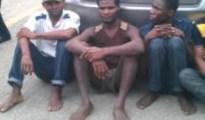 Suspected Lekki Bank robbers
